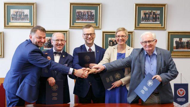 NIGRiR rozpoczął współpracę z WUM na rzecz rozwoju badań naukowych