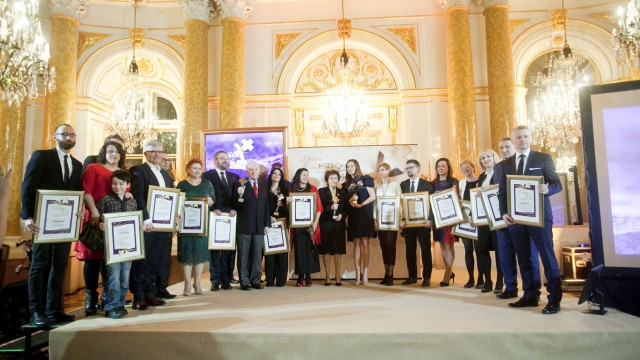 """Dyrektor NIGRiR-u otrzymał Nagrodę """"Menedżera Zdrowia"""""""