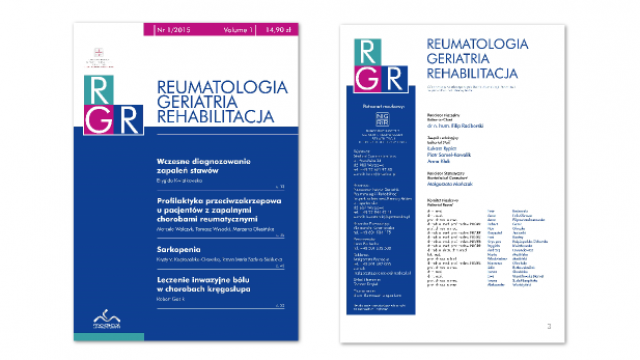 Premiera nowego czasopisma Narodowego Instytutu Geriatrii, Reumatologii i Rehabilitacji im. prof. dr hab. med. Eleonory Reicher