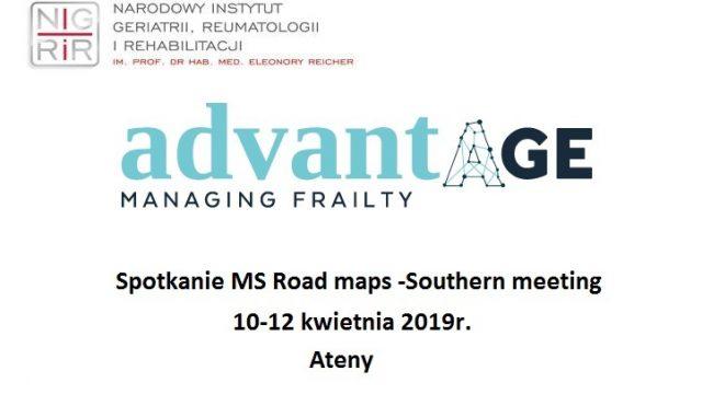 Spotkanie MS Road maps -Southern meeting, Ateny, kwiecień 2019r.