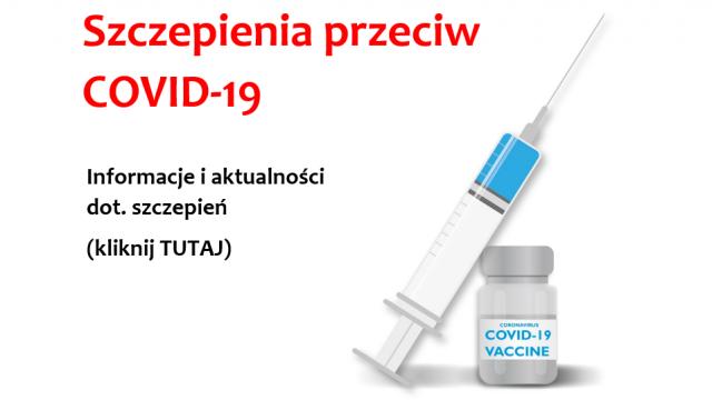 Szczepienia przeciw COVID-19 – Informacje i aktualności