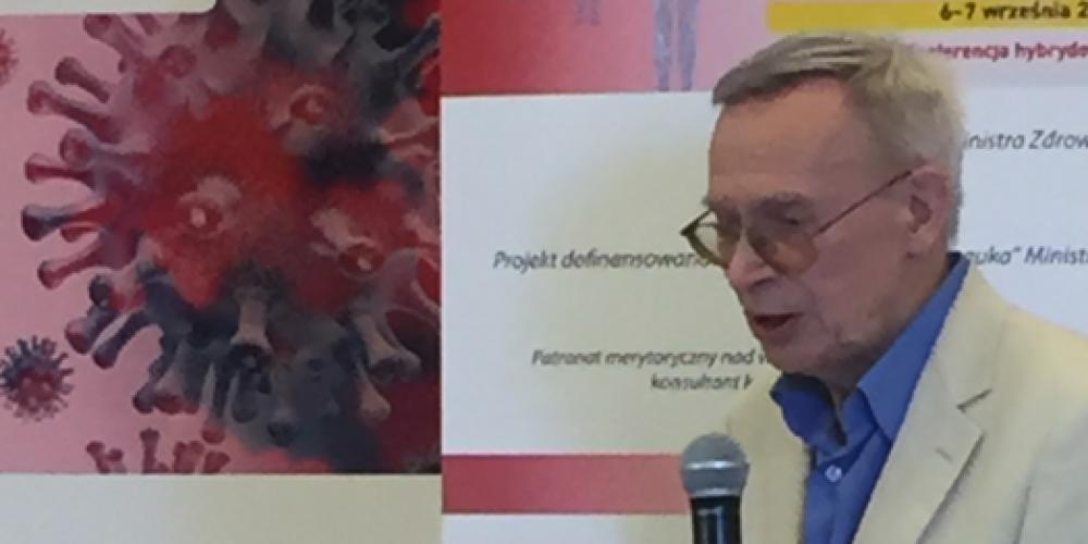 Czy pandemii COVID-19 można było uniknąć? – wywiad z prof. dr hab. n. med. Włodzimierzem Gutem