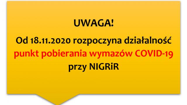 Punkt wymazowy COVID-19 (walk-thru)