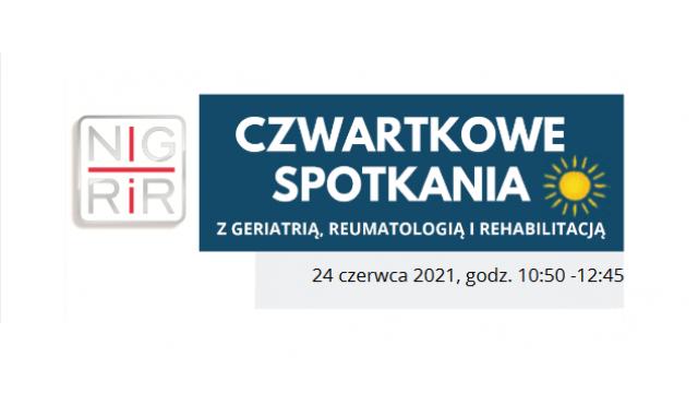 """""""Czwartkowe spotkanie"""" – 2021.06.24"""