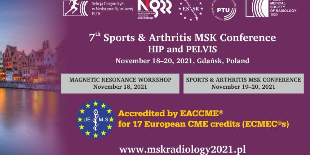 Międzynarodowej Konferencji MSK Sport & Arthritis