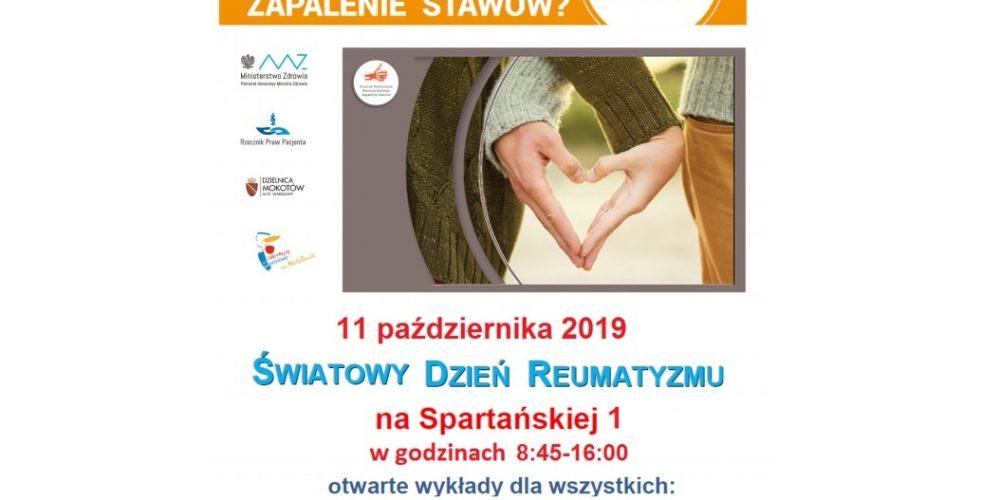 Światowy Dzień Reumatyzmu w Warszawie