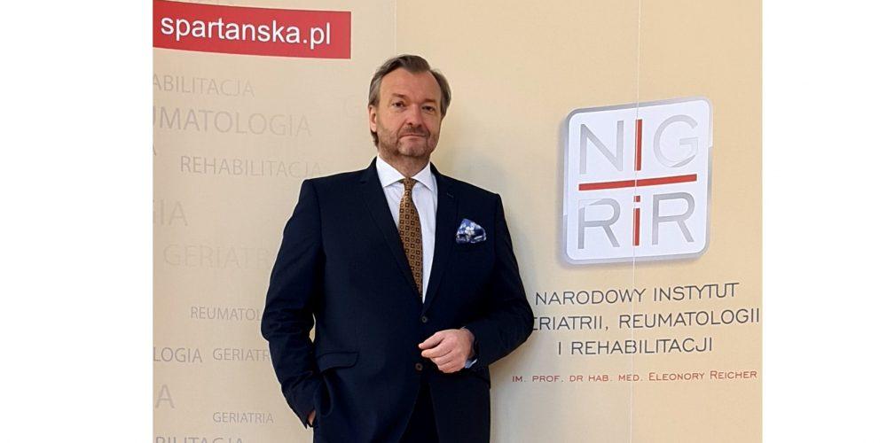 Geriatria potrzebuje specjalnego podejścia i nowej wyceny Marek Tombarkiewicz dyrektor Narodowego Instytutu Geriatrii, Reumatologii i Rehabilitacji
