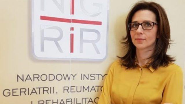 Zastępca Dyrektora ds. Naukowych w Narodowym Instytucie Geriatrii, Reumatologii i Rehabilitacji w Warszawie