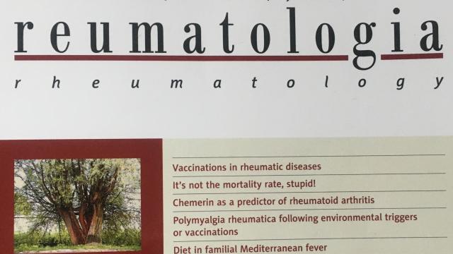 Czasopismo Reumatologia 40 pkt MEN